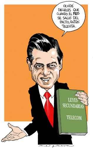 Televisa, leyes