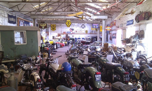 Vintage Cars and Motorbikes at Llangollen Motor Museum