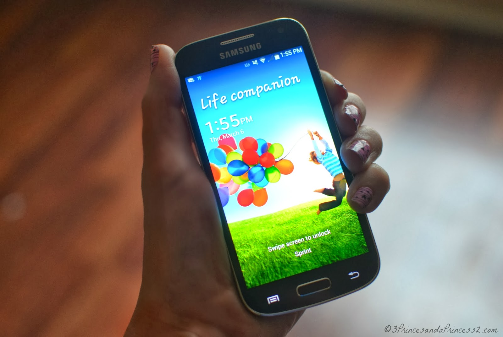 Samsung Galaxy S 4 mini #SprintMom #giveaway