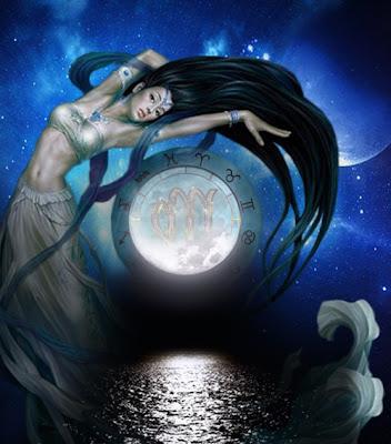 Луна и Дева