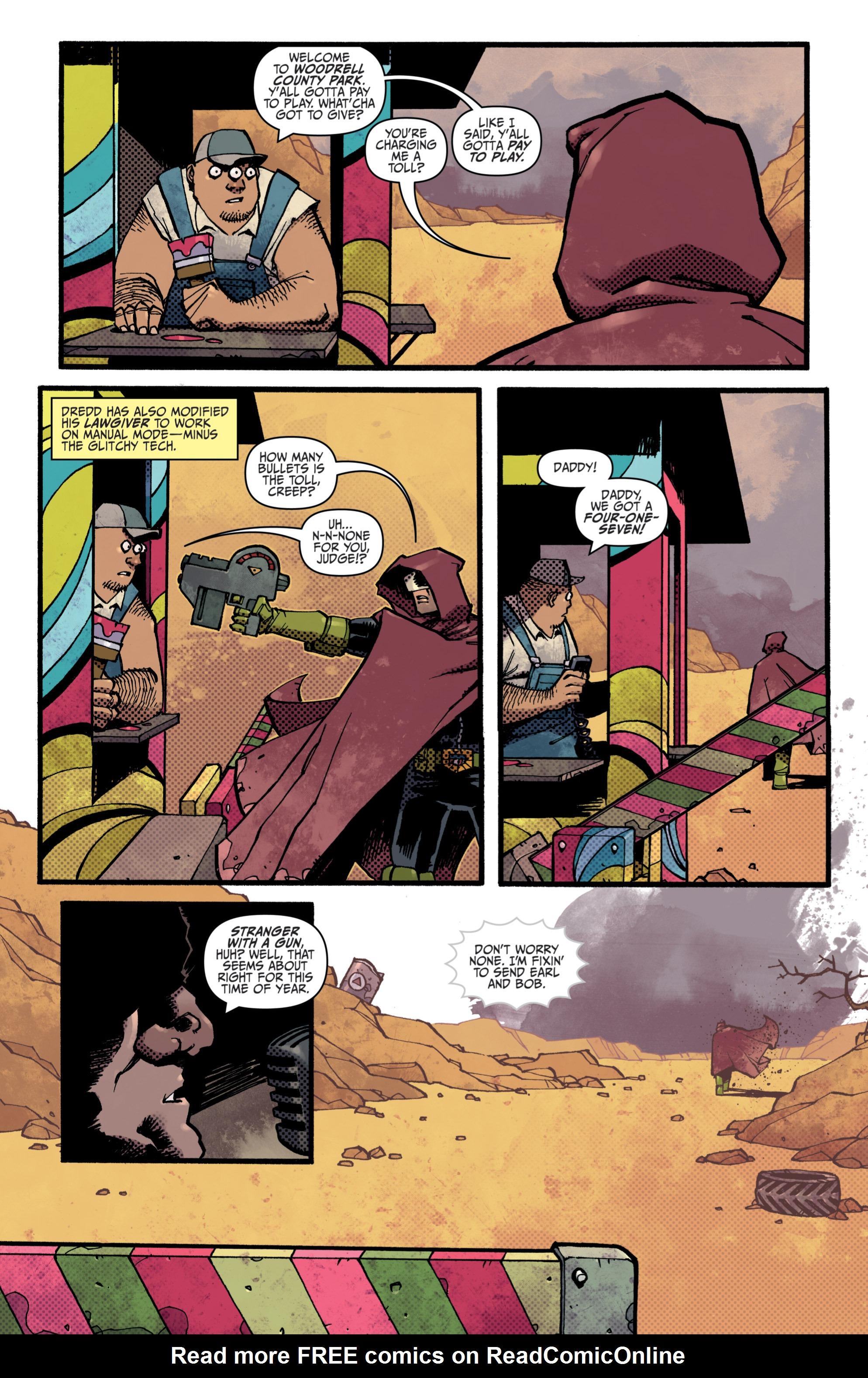 Read online Judge Dredd (2012) comic -  Issue # _TPB 3 - 7
