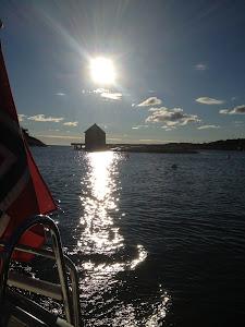 Sjøen er like vakker på høsten som om sommeren.