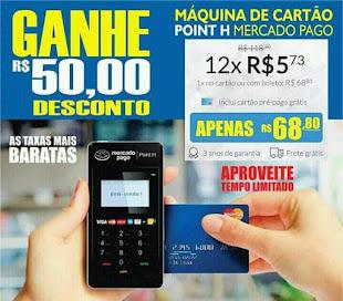 A MELHOR MAQUININHA DE CARTÃO DE CRÉDITO