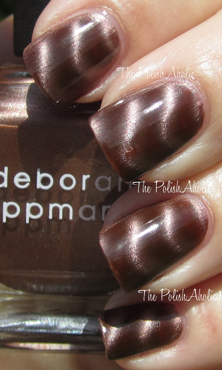 The PolishAholic: Deborah Lippmann Nails of Steel Magnetic Polish ...