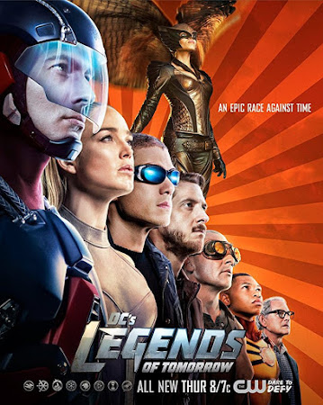 Poster Of Legends of Tomorrow Season 04 2018 Watch Online Free Download