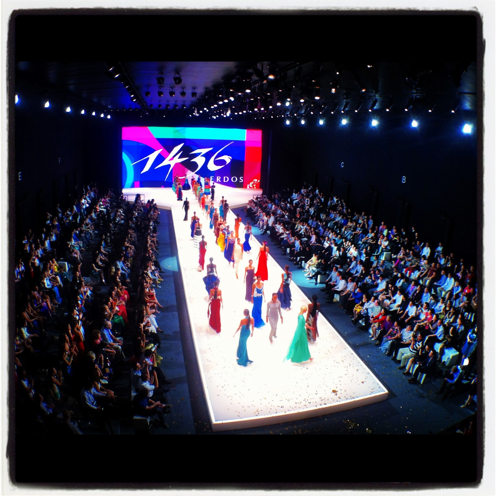 Fashion Show Runway Stage