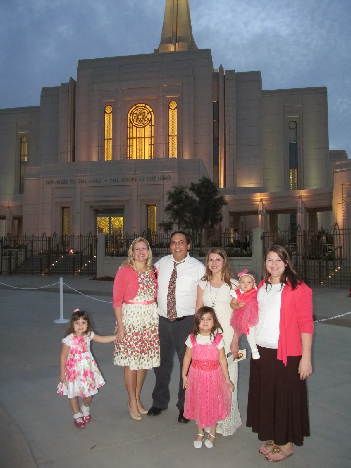 We love the Gilbert Temple!!
