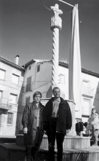 Inauguración de la nueva Cruz de Término