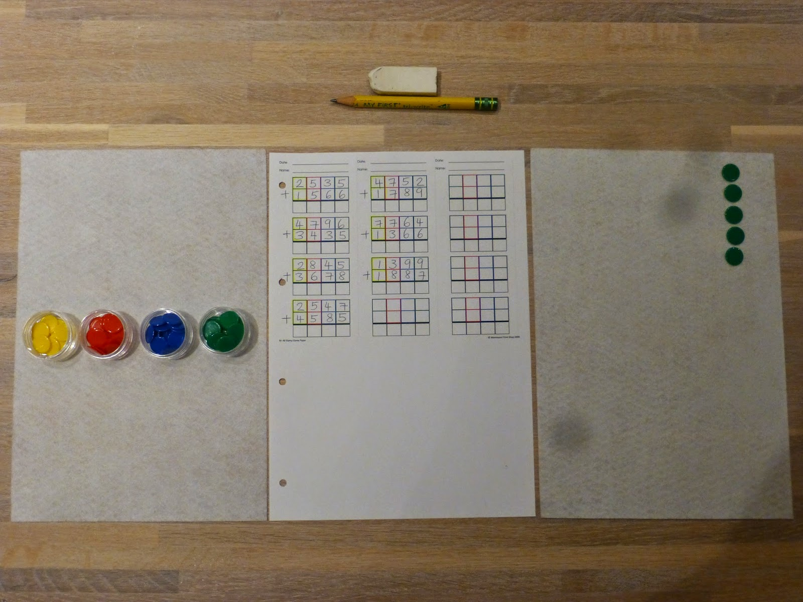 math worksheet : montessori dynamic addition worksheets  making montessori ours  : Dynamic Math Worksheets