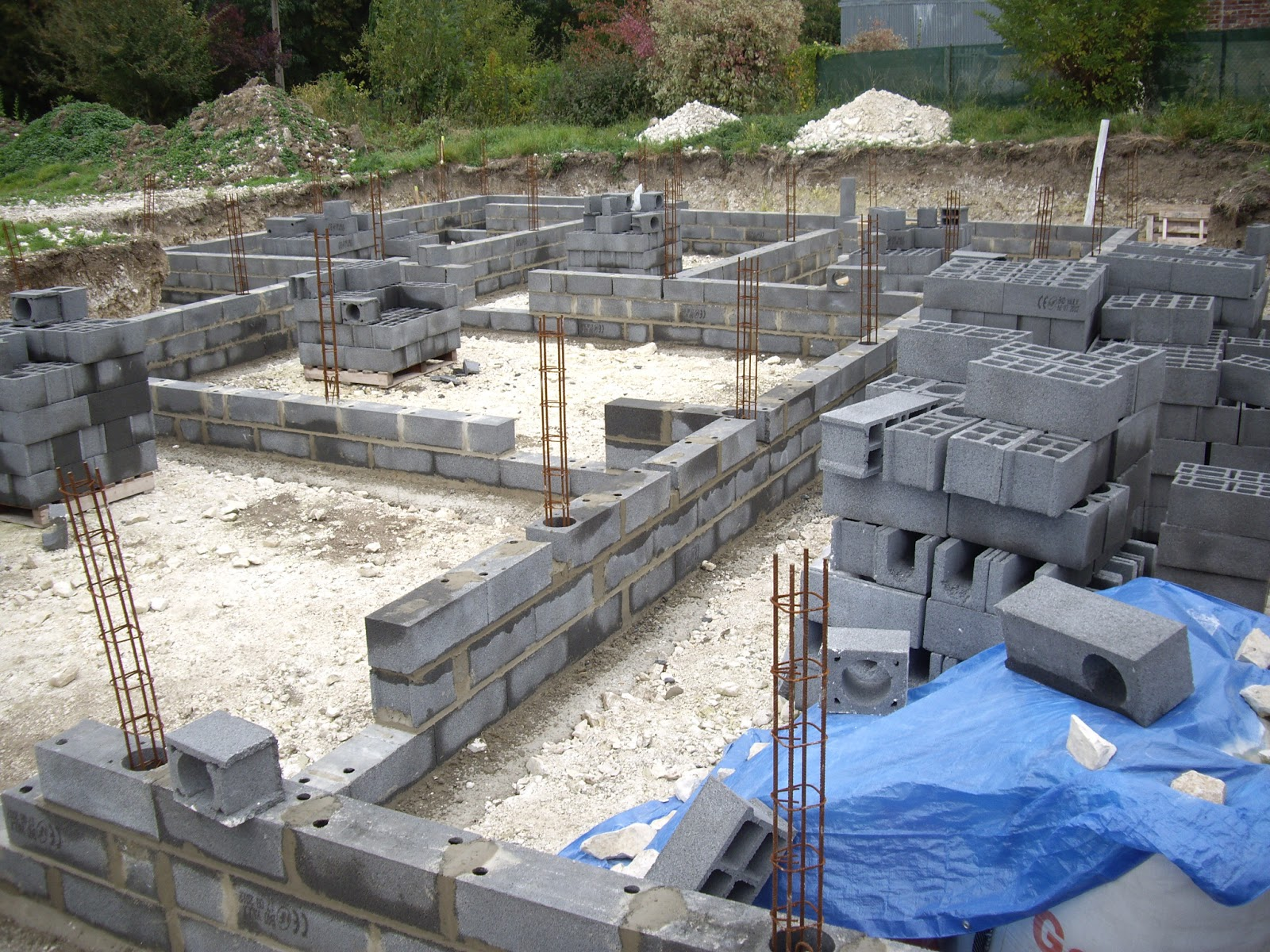 Notre auto construction passive maison ossature bois m o b vide sanitaire suite de la - Vide sanitaire maison passive ...