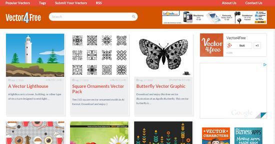 Situs Penyedia Vector Gratis Vector 4 Free