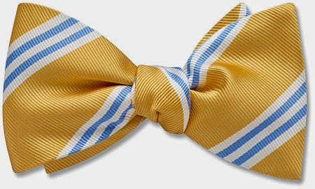 Willoughby bow tie from Beau Ties Ltd.