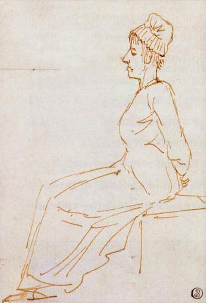 Portrait de Marie Antoinette, Reine de France