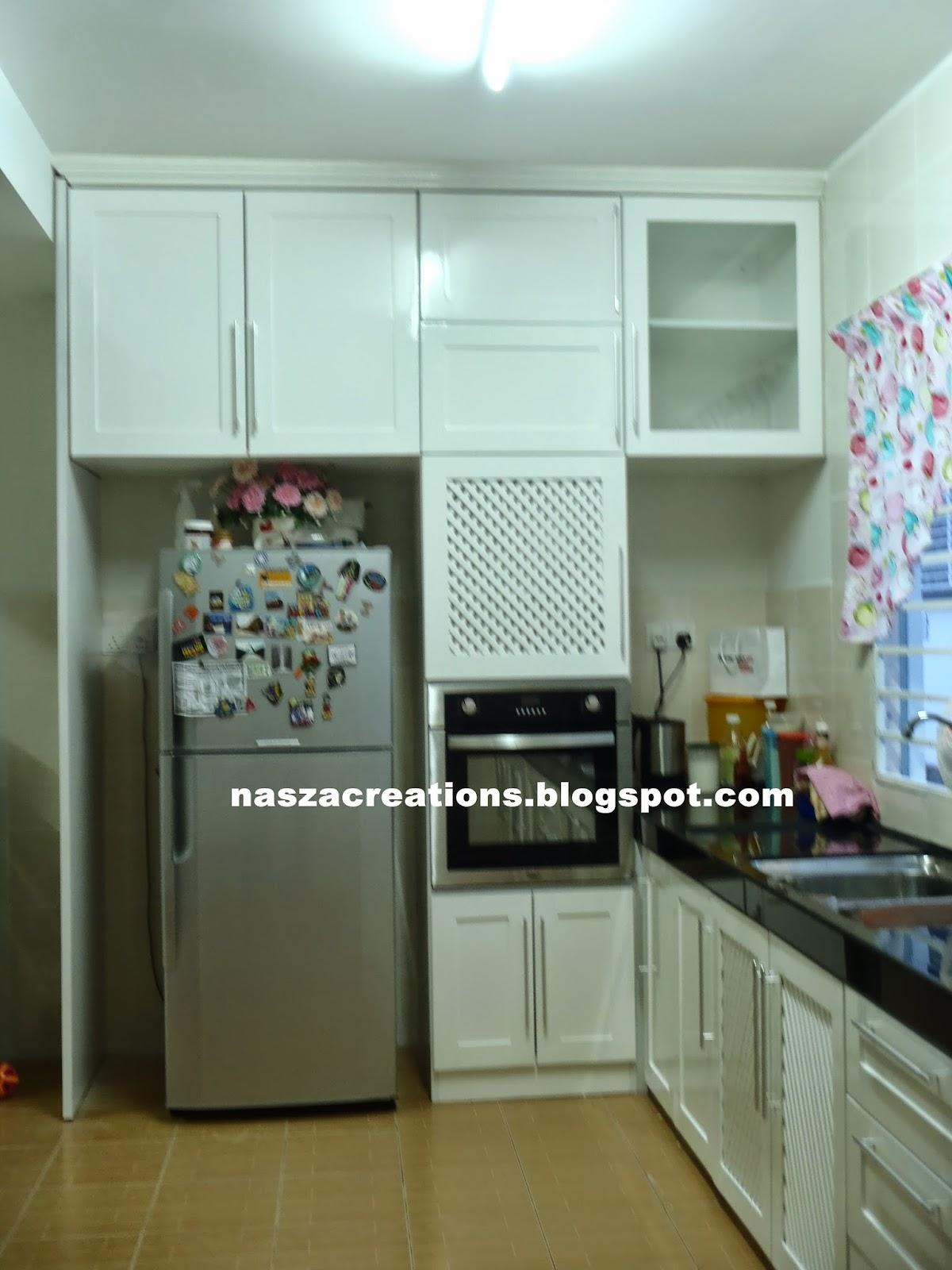 NASZA CREATIONS: White Solid Nyatoh Kitchen