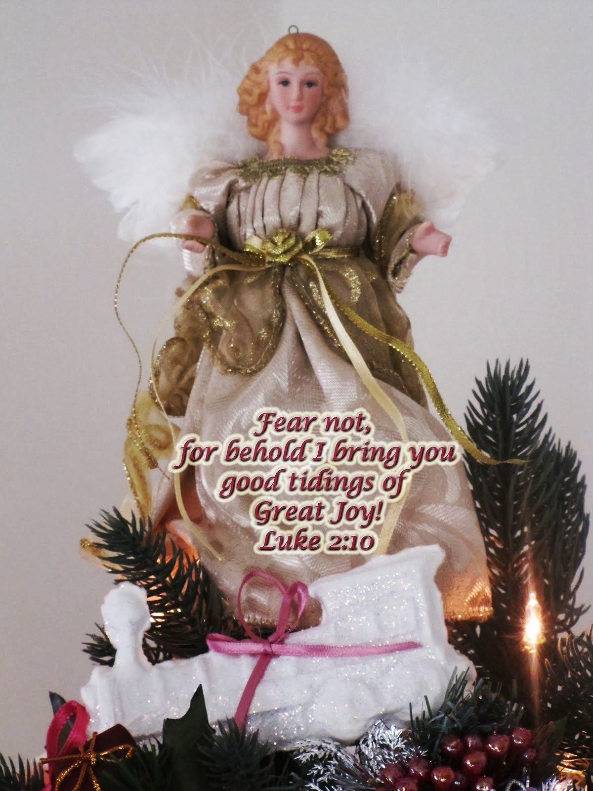 Angel - Fear Not - Luke 2:10