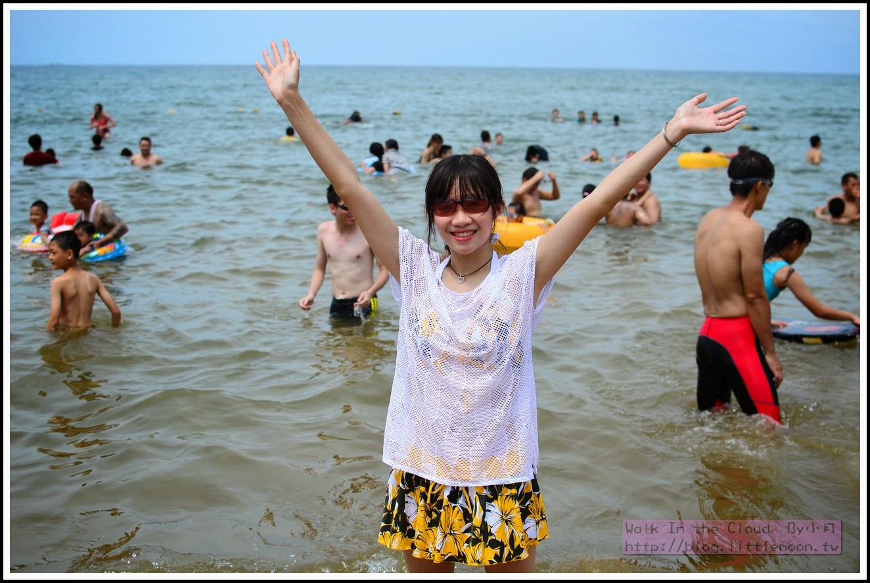 快樂比基尼與海邊