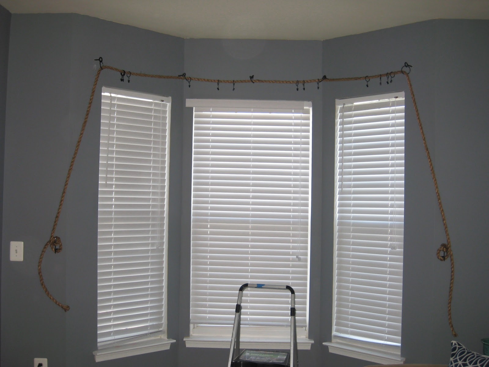 ... Family: Rope Turned Nautical Theme Curtain Rod by Chris & Amy