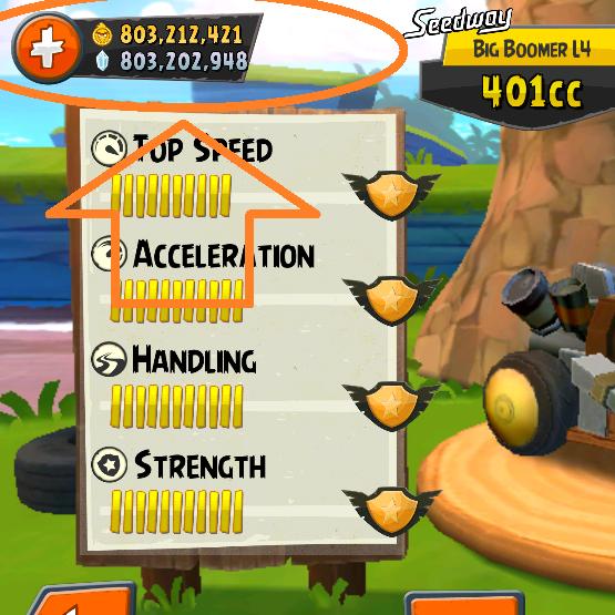 10 mẹo hay khi chơi Angry Birds Go