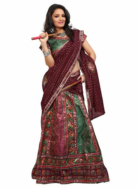 Cotton Chaniya Choli For Navratri Festival 2013