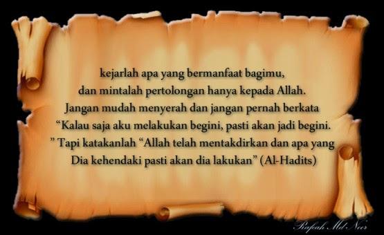 kata-kata motivasi islam
