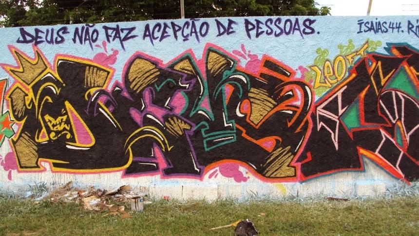 Graffiti Rivas DEUS