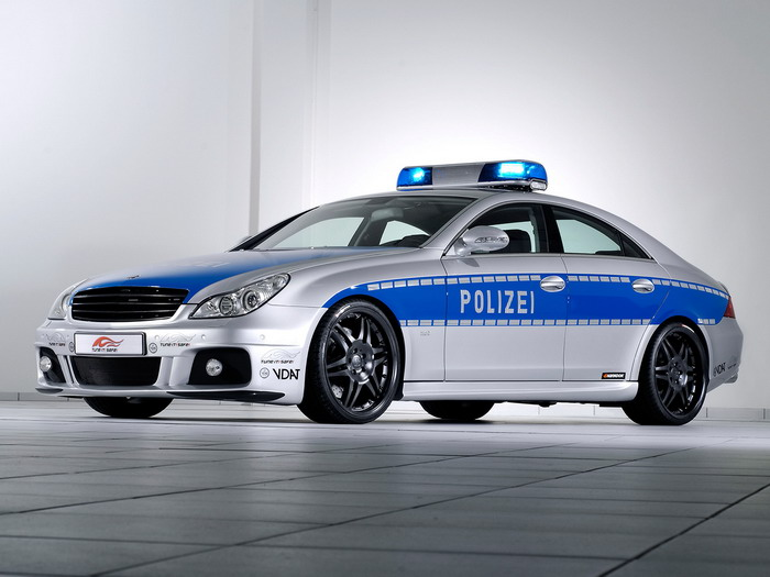 brabus rocket police car based on mercedes benz cls 2006