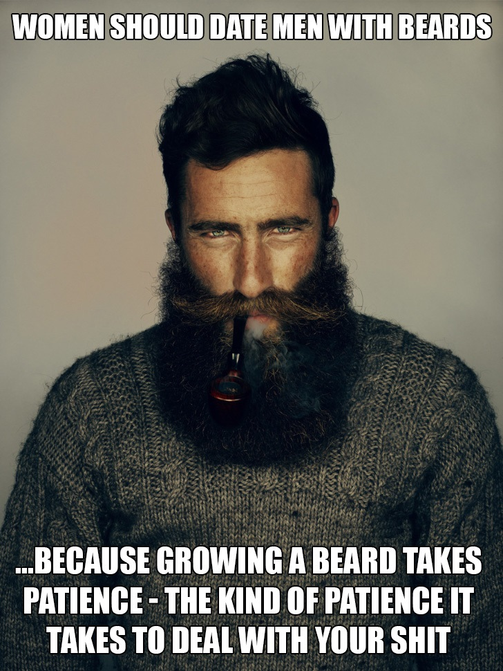 With For Guys Dating Beards Sites