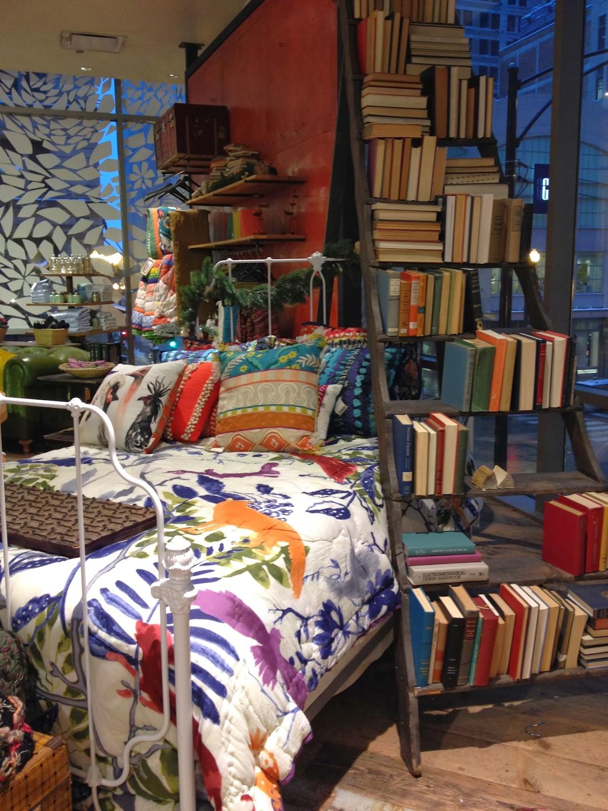 books & bedspreads