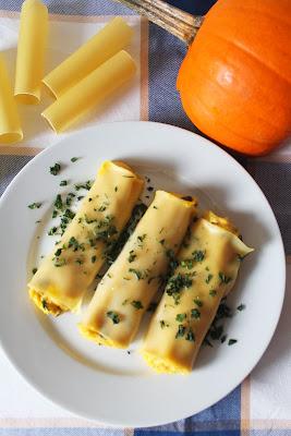 Cannelloni z dynią i mascarpone