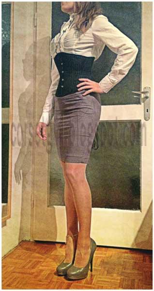 wasp waist corset