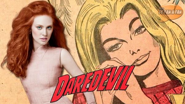 Deborah Ann Woll como Karen Page en Daredevil