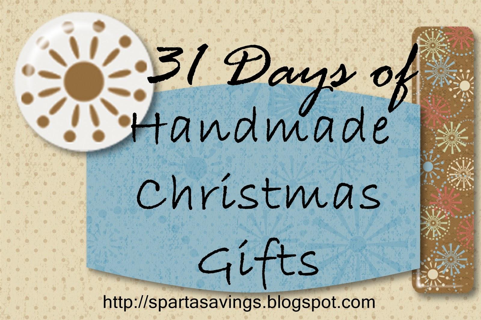 Sparta Savings: 31 Days of Handmade Christmas Gifts: Day 10 ...