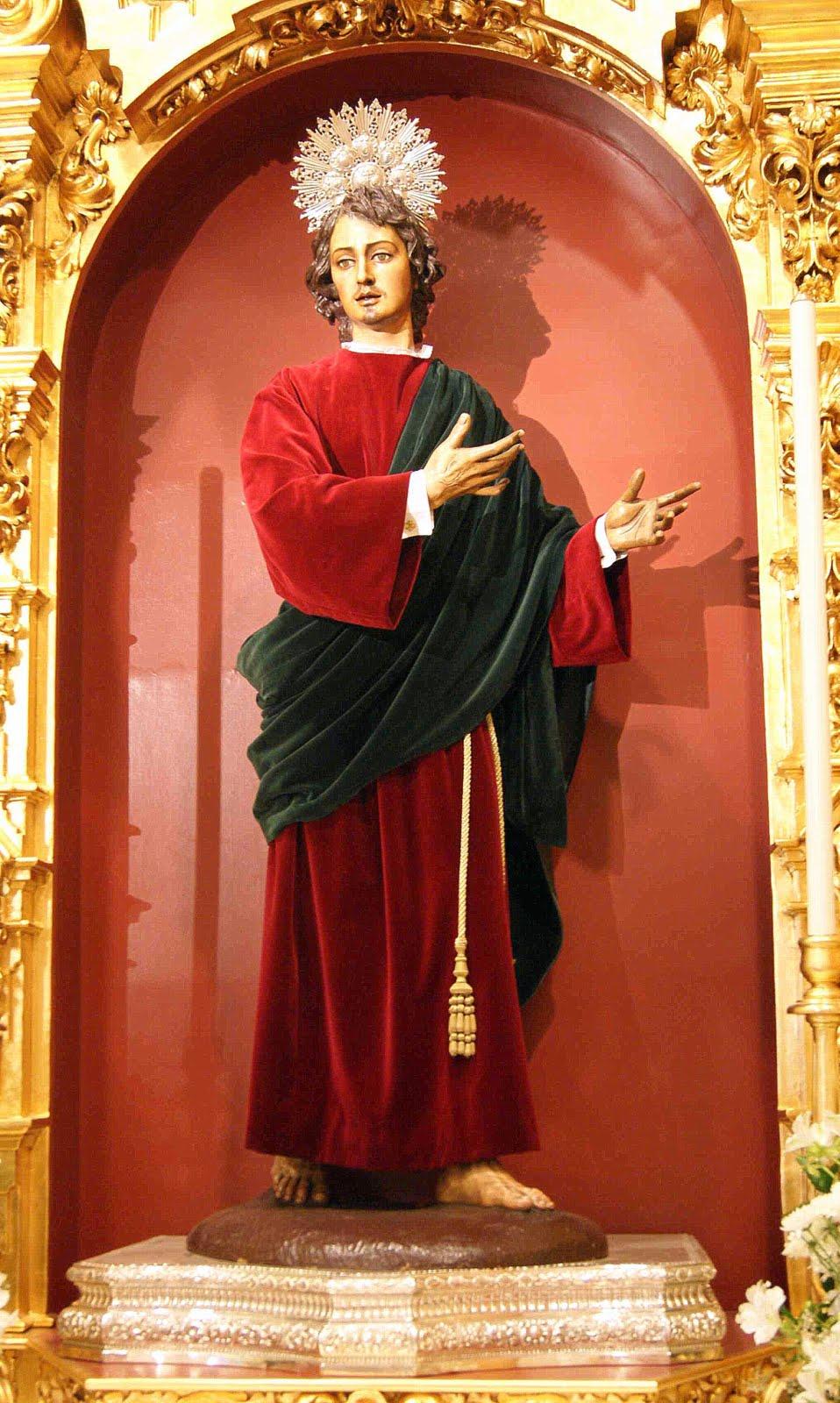 Hermandad de la esperanza de triana Retablo+S+Juan+Evangelista02