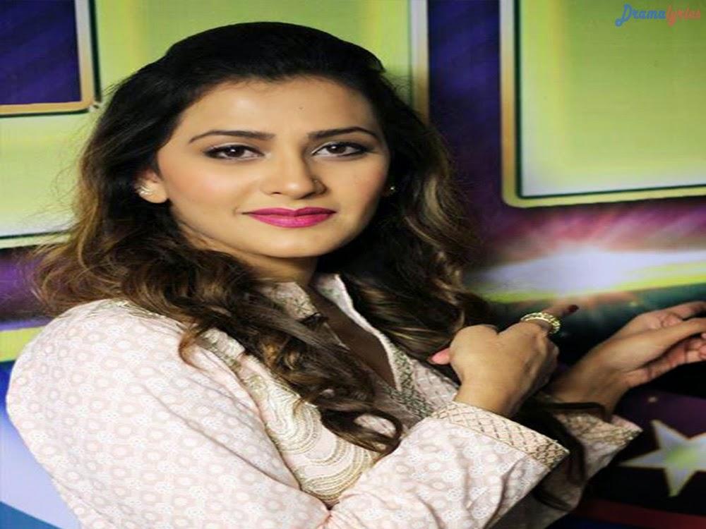 Maha Warsi Red Dress HD Drama Wallpapers