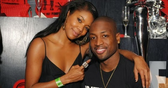 Gabrielle Union And Dwyane Wade Championship 2013 Couple Love - Gabriell...