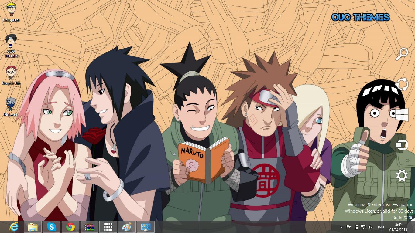 Naruto Road To Ninja Theme For Windows 7 And 8