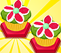 Floral Marshmallow Cupcakes