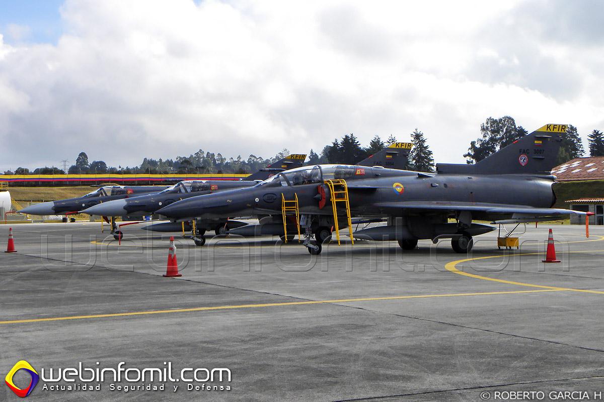 Aviones Kfir Colombia