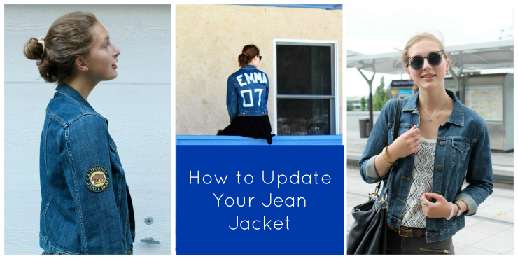 How To: Update Your Jean Jacket this Fall