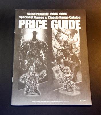Specialist Games & Classic Range Catalog. 2004-2006 Edition. Guía de precios