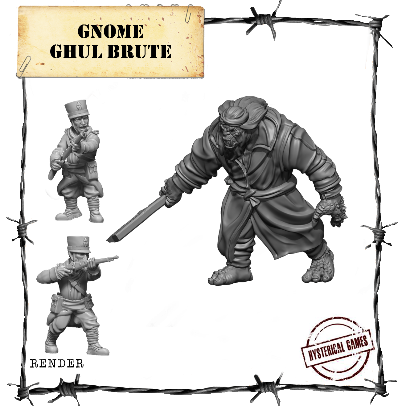 hysterical games gnomes