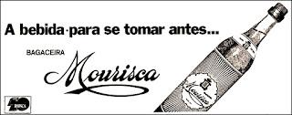 bagaceira Mourisca; aguardente de vinho; pinga; cachaça; década de 70. os anos 70; propaganda na década de 70; Brazil in the 70s, história anos 70; Oswaldo Hernandez;