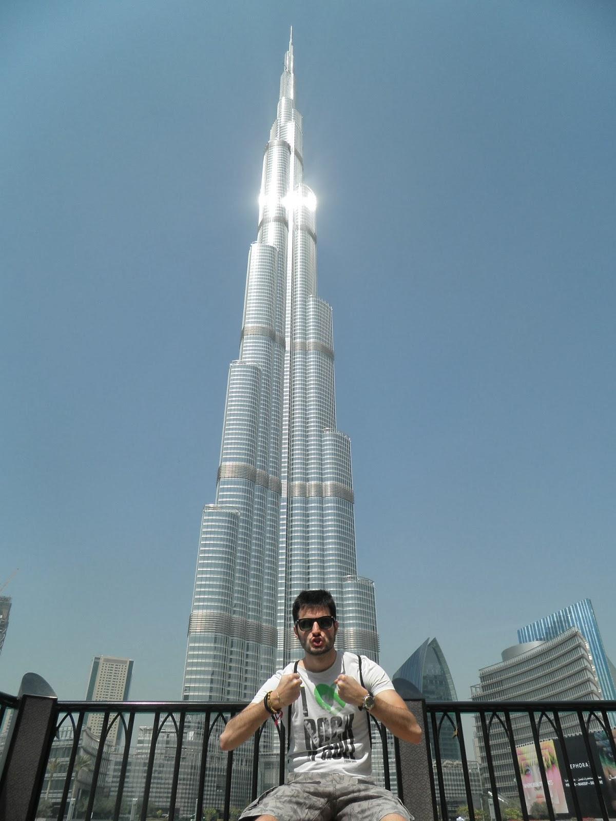 Dando un paseo europeo: Dubai I