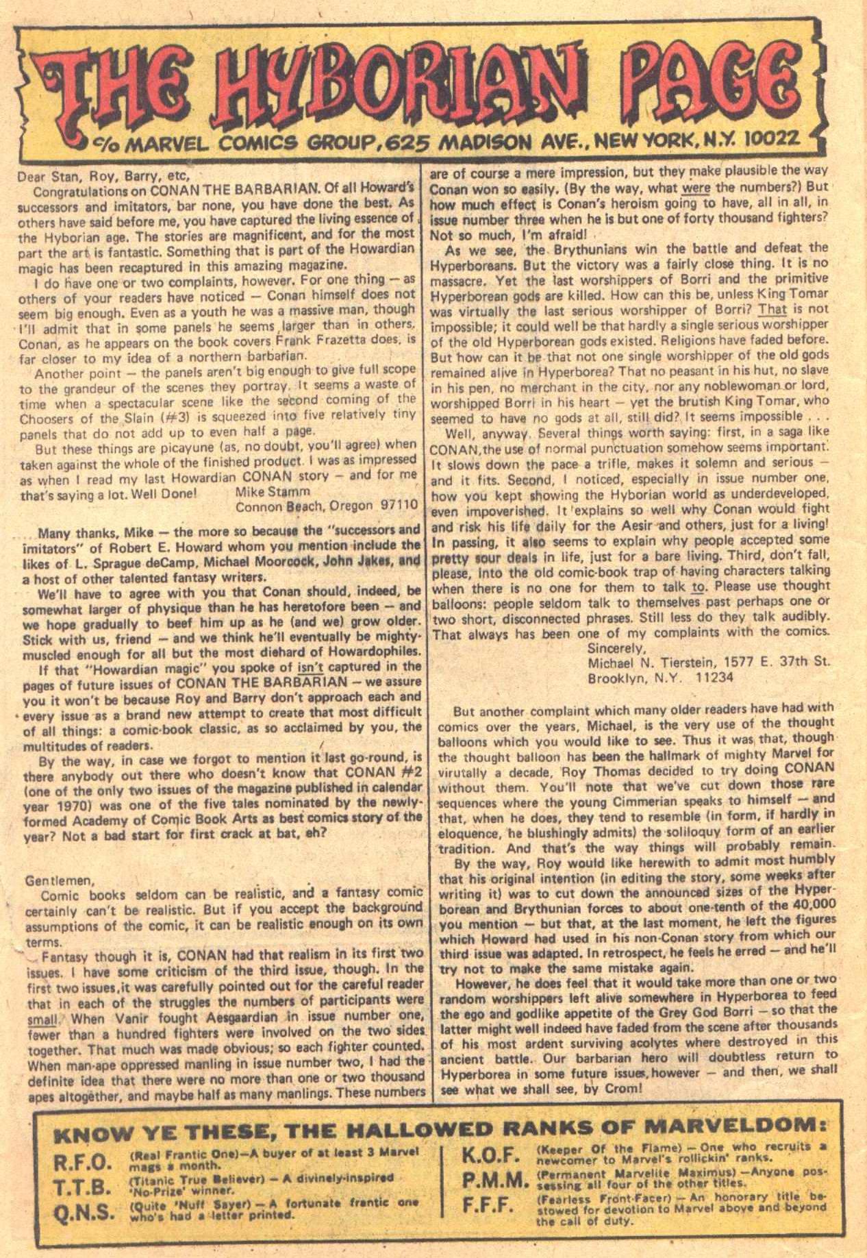 Conan the Barbarian (1970) Issue #7 #19 - English 22