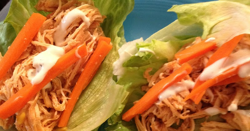 Jackie Likes to Eat: Buffalo Chicken Lettuce Wraps