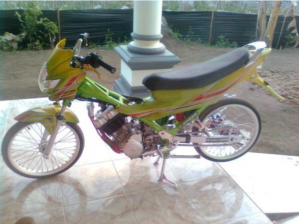 Download image Airbrush Body Satria Fu 150 Motorcycle Pictures PC ...
