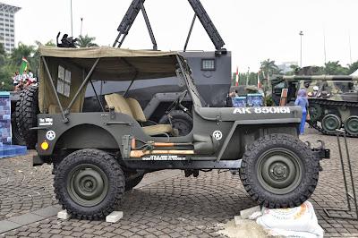 gambar Mobil Jeep Tempur