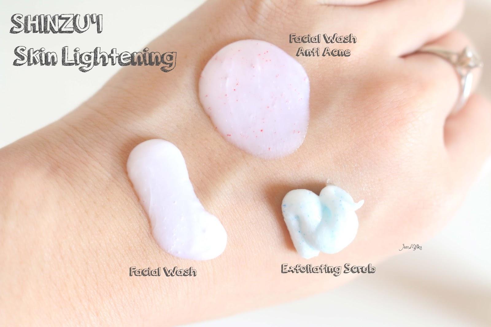 shinzui, putih itu shinzui, skin care, review shinzui, shinzui lightening series, shinzui scrub, shinzui facial wash, perawatan wajah, acne