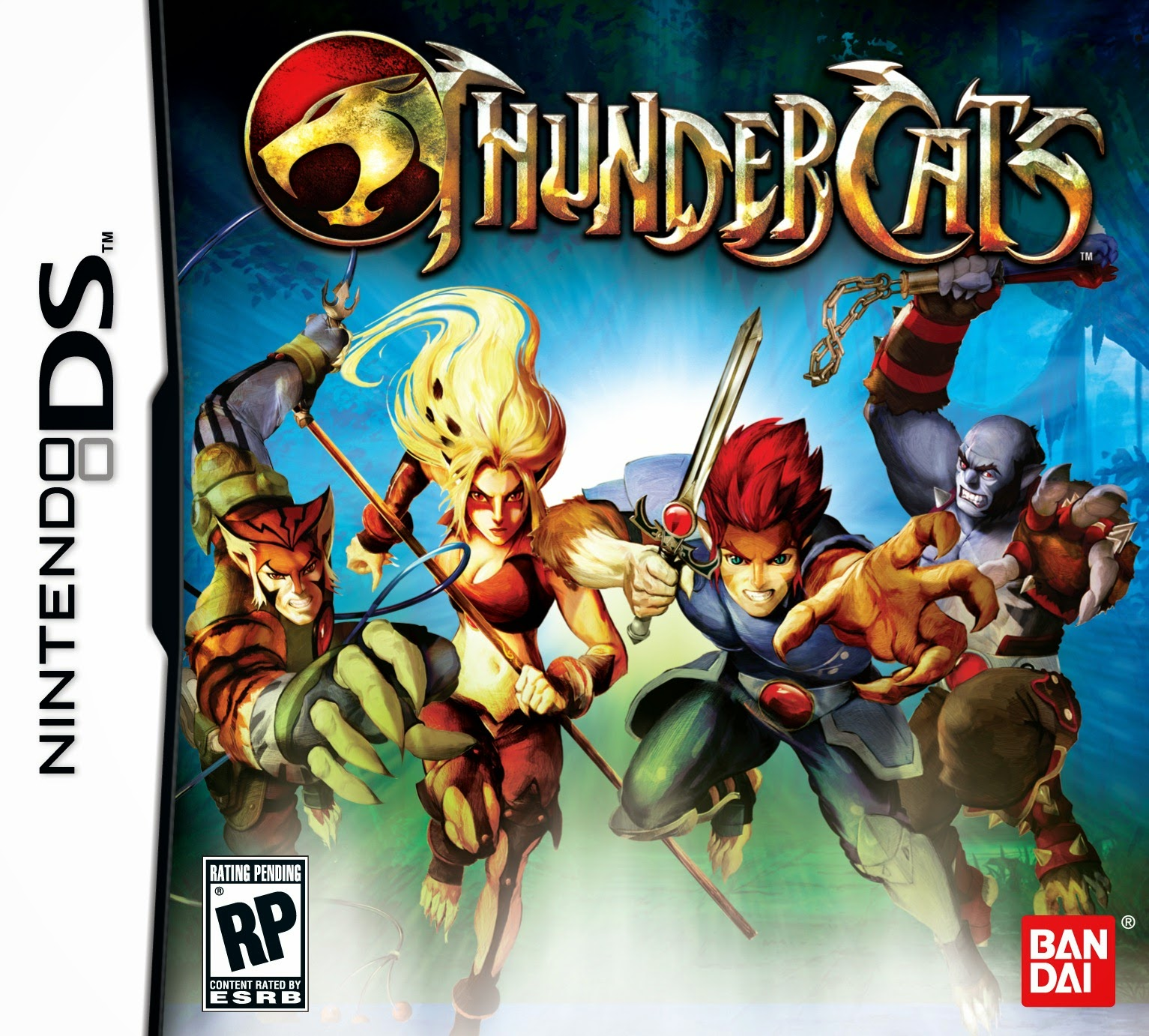 ThunderCats game nds rom cover download free descargar gratis
