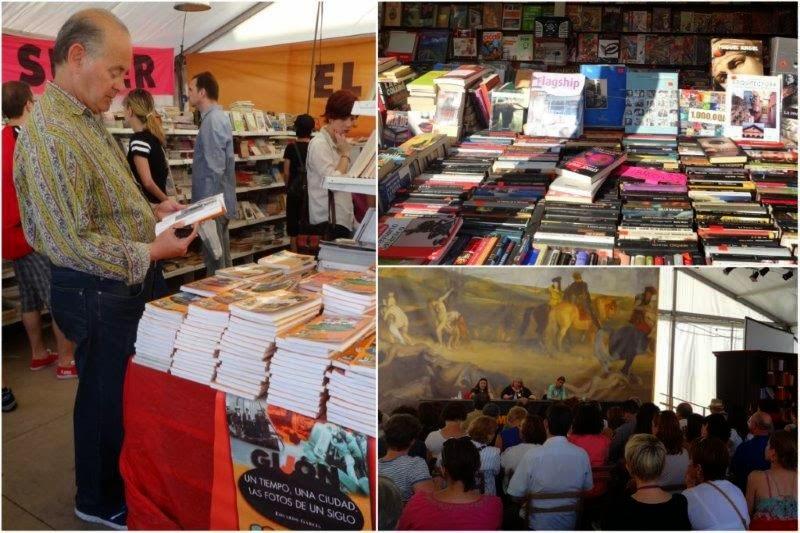 Semana Negra 2014 en Gijon. Feria del libro. Charlas.
